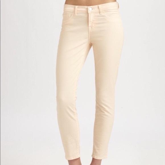 J Brand Capri Sherbert Skinny Jean